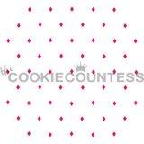 The Cookie Countess(クッキーカウンテス)ステンシル/アーガイルチェック(点)