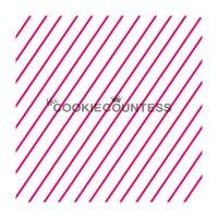 The Cookie Countess(クッキーカウンテス)ステンシル/シンプル斜めストライプ2
