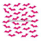 The Cookie Countess(クッキーカウンテス)ステンシル/飛んでるコウモリ