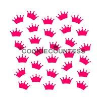 The Cookie Countess(クッキーカウンテス)ステンシル/王冠
