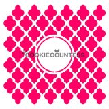 The Cookie Countess(クッキーカウンテス)ステンシル/モロッカン(モノグラム)
