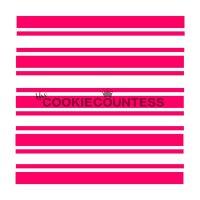 The Cookie Countess(クッキーカウンテス)ステンシル/プレッピーストライプ