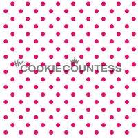 The Cookie Countess(クッキーカウンテス)ステンシル/ミニ水玉ドット2