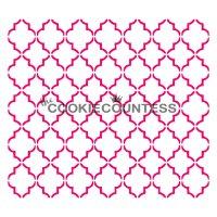 The Cookie Countess(クッキーカウンテス)ステンシル/モロッカンライン
