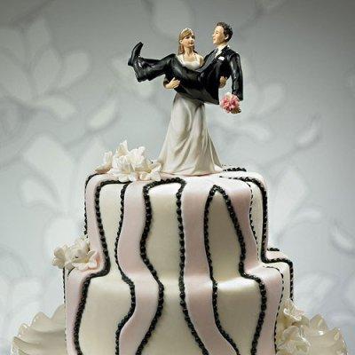画像2: ウエディングケーキトッパー/力持ちな花嫁