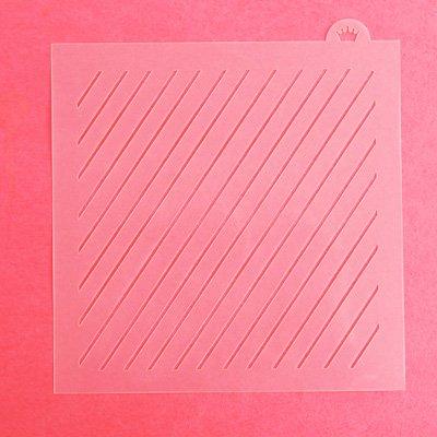 画像1: 〒 CC ステンシル/シンプル斜めストライプ2