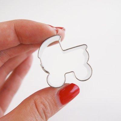 画像1: ミニ★クッキー型/ベビーカー