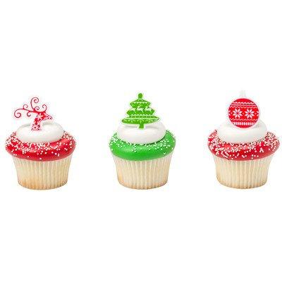 画像3: ケーキリング/ノルディッククリスマス(3個入り)