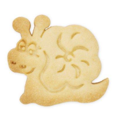 画像1: クッキー型(Stadter)スタンプ(バネ式)カタツムリ