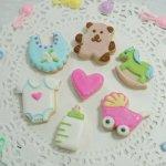 画像3: ミニ★クッキー型7pcセット(透明ケース)ベビー (3)