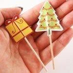 画像4: Table Fun(テーブルファン) ベーキングカップ&トッパー/Be Merry クリスマス (4)