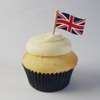 ケーキピック/イギリス国旗(5本入)