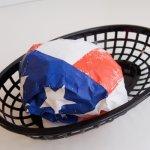 画像3: 〒 フードペーパー/アメリカン星条旗 (3)