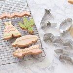 画像1: クッキー型(FoxRun)インディアン5個セット【ステンレス】 (1)