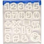 画像2: Ateco クッキー型(プラスチック)数字+記号 (2)