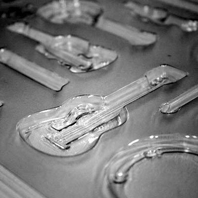 画像2: 〒 CK チョコレート型/楽器セット