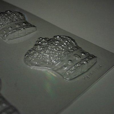画像1: 〒 CK チョコレート型/王妃冠