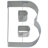 Stadter クッキー型/アルファベット英字B(ステンレス)