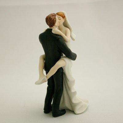 画像2: ウエディングケーキトッパー/ラブラブ抱きつき花嫁