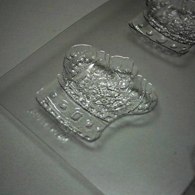 画像2: 〒 CK チョコレート型/王妃冠