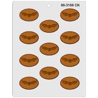 CK チョコレート型/コウモリ楕円