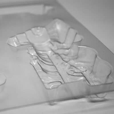 画像2: 〒 CK チョコレート型(立体3D)汽車
