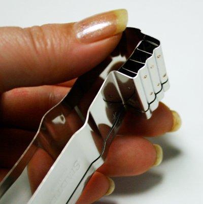 画像2: Stadter クッキー型/歯ブラシ(ステンレス)