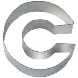 Stadter クッキー型/アルファベット英字C(ステンレス)