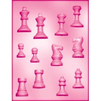 CK チョコレート型(立体3D)チェス