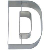 Stadter クッキー型/アルファベット英字D(ステンレス)