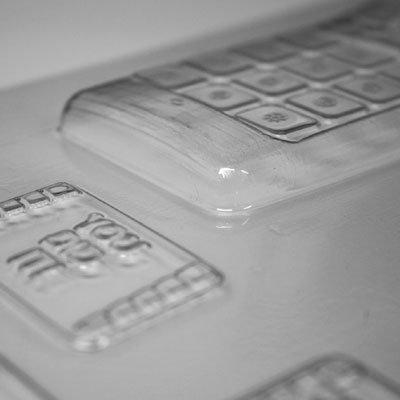 画像1: 〒 CK チョコレート型/携帯電話