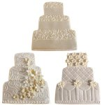 画像2: クッキー型&テクスチャーマット付き/3段ケーキ (2)