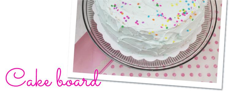 ケーキボード