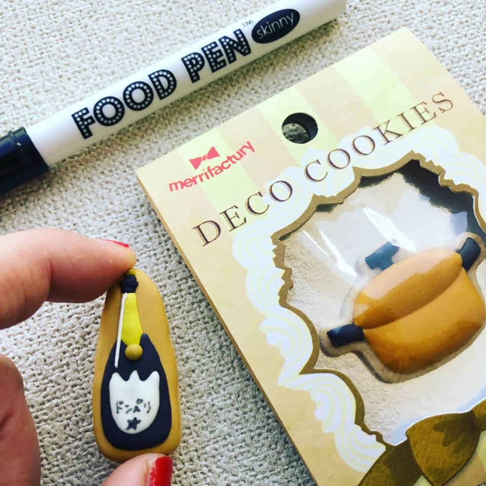 アイシングクッキーを簡単にカスタムするなら「フードペン」が便利です!