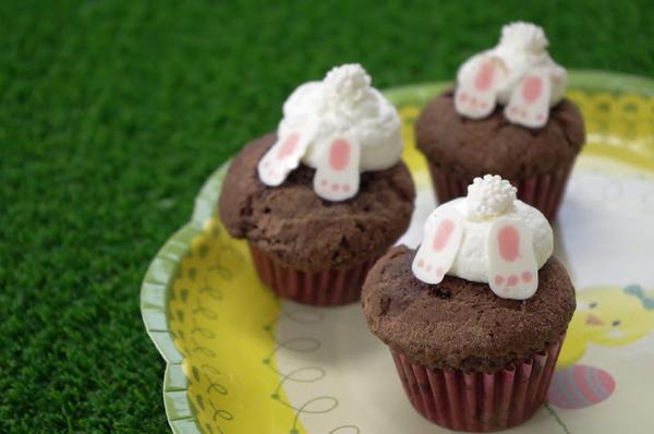 うさぎカップケーキの作り方