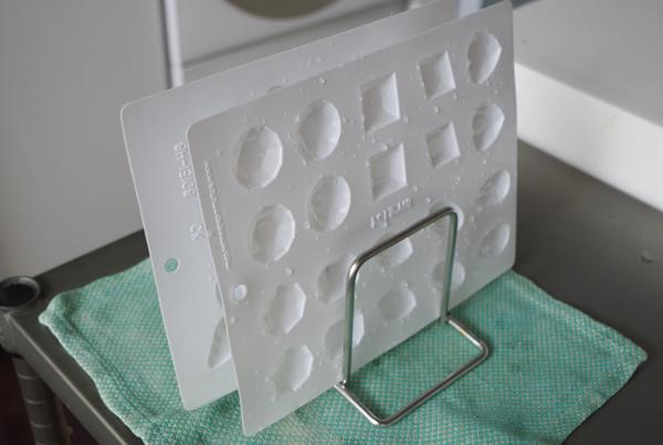 飴型の洗浄・乾燥