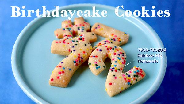 バースデークッキーの作り方