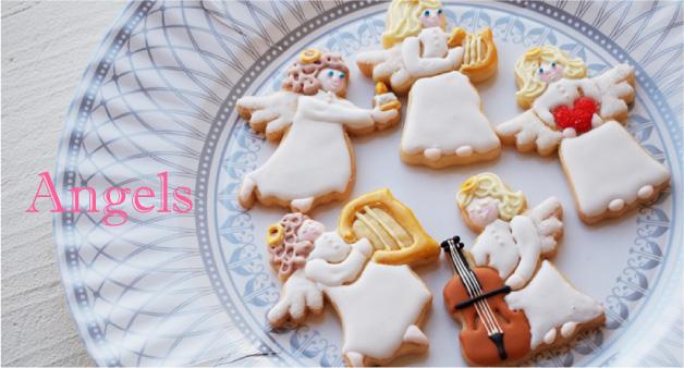エンジェル(天使)のクッキー型