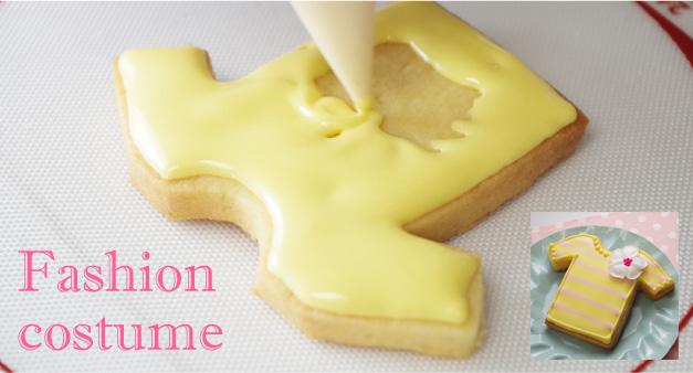 ファッションクッキー型