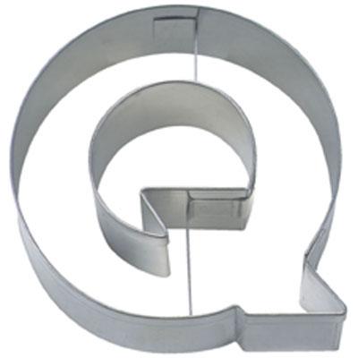 画像1: 〒 クッキー型(Stadter)アルファベット英字Q【ステンレス】 (1)