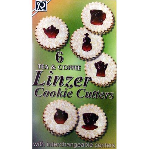 画像1: クッキー型抜セット/ティータイム (1)