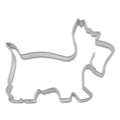 画像1: 〒 クッキー型(Stadter)テリア犬【ステンレス】 (1)