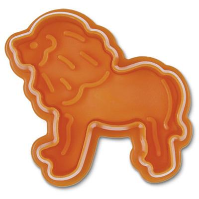 画像1: クッキー型(Stadter)スタンプ(バネ式)ライオン (1)