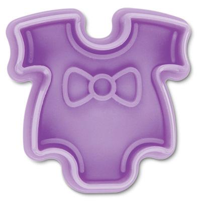 画像1: クッキー型(Stadter)スタンプ(バネ式)ベビー服 (1)
