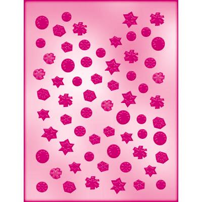 画像1: 〒 CK チョコレート型(プチサイズ)雪の結晶 (1)