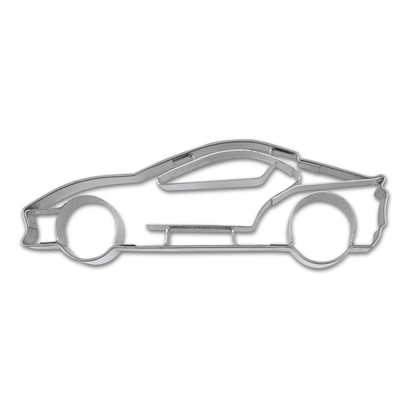 画像1: 〒 クッキー型(Stadter)スポーツカー【ステンレス】 (1)