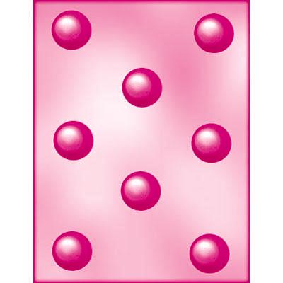 画像1: 〒ボンボンショコラのチョコレート型/丸プレーン 3cm (1)