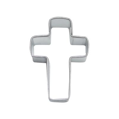 画像1: 〒 クッキー型★ミニ/十字架クロス (1)