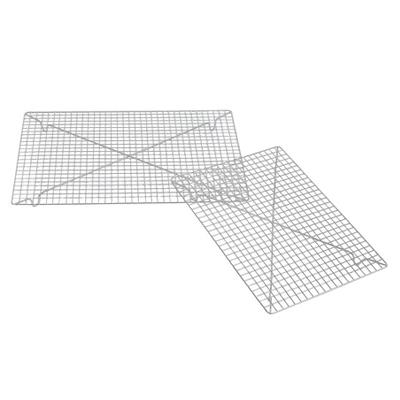 画像1: FoxRun ケーキクーラー(クロムメッキ)45.7×31.7cm (1)