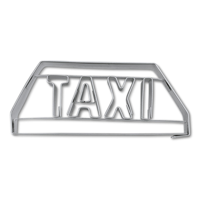 画像1: 〒 クッキー型(Stadter)タクシーマーク【ステンレス】 (1)